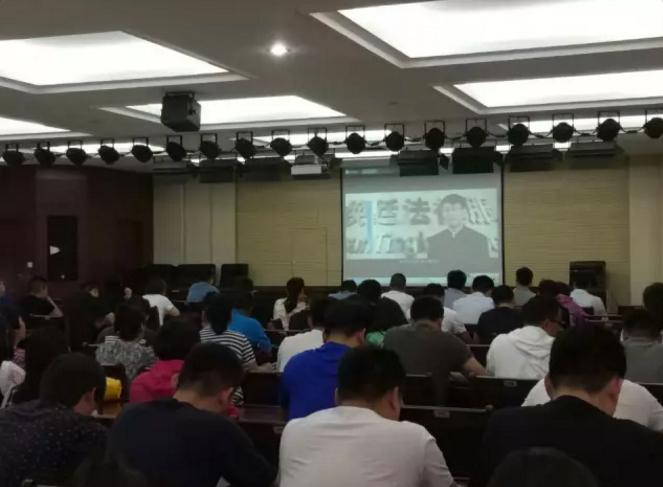 焕廷新闻|刘焕廷主任受邀为郑州市航海东路办事处领导干部普法知识讲座